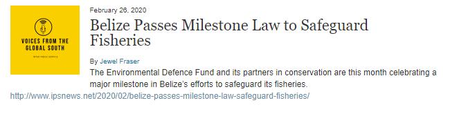 Fisheries Resource Act 2020